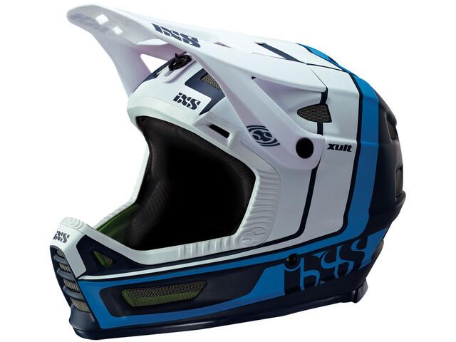IXS Xult Kask rowerowy, night blue/blanc